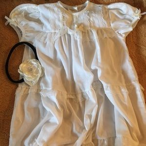 Other - CHRISTENING//DEDICATION DRESS with headband